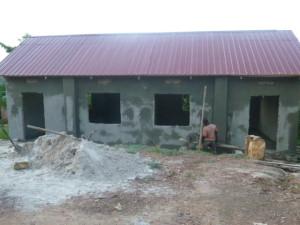 Uganda Hillside Building Almost Complete 1.2016