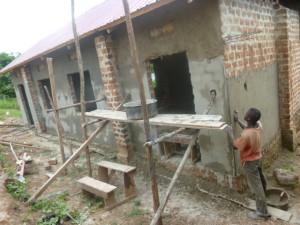 Uganda Plastering Hillside